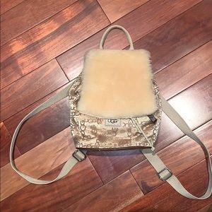 UGG mini backpack